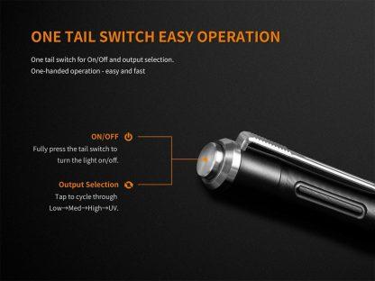 Fenix LD05 V2.0 Penlight with UV Light- 100 Lumens-17499
