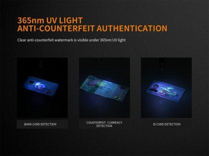 Fenix LD05 V2.0 Penlight with UV Light- 100 Lumens-17496