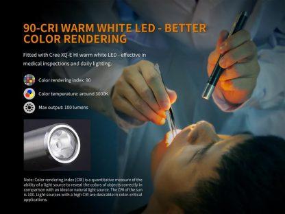 Fenix LD05 V2.0 Penlight with UV Light- 100 Lumens-17498