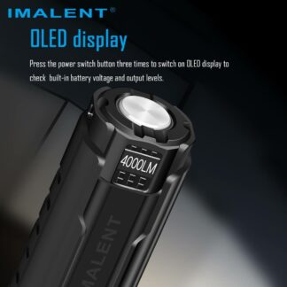 Imalent LD70 Compact Rechargeable Torch (Blue)- 4000 Lumens-17504