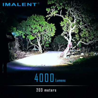 Imalent LD70 Compact Rechargeable Torch (Green)- 4000 Lumens-17546