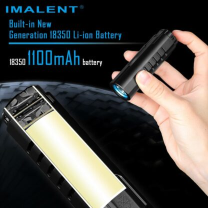 Imalent LD70 Compact Rechargeable Torch (Green)- 4000 Lumens-17547