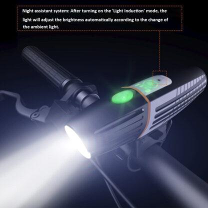 Prolite M600 Rechargeable Bike Light (450 Lumens) with Intelligent Light Sensor-17572