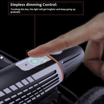 Prolite M600 Rechargeable Bike Light (450 Lumens) with Intelligent Light Sensor-17563