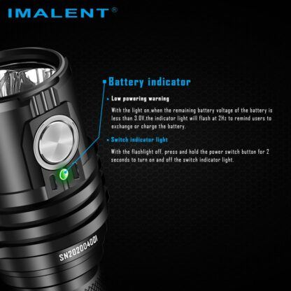 Imalent MS03 Rechargeable Torch - 13000 Lumens-17443