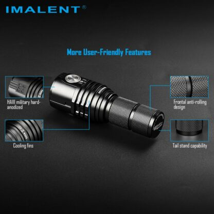 Imalent MS03 Rechargeable Torch - 13000 Lumens-17458