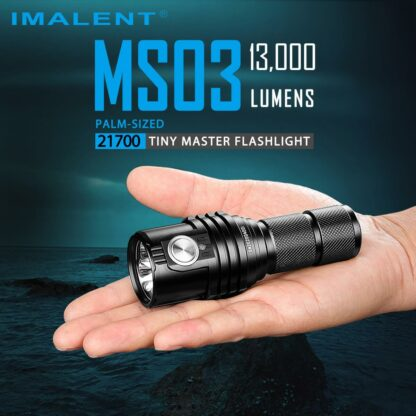Imalent MS03 Rechargeable Torch - 13000 Lumens-17451