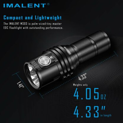 Imalent MS03 Rechargeable Torch - 13000 Lumens-17448
