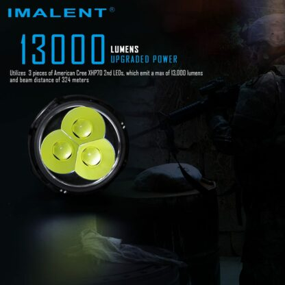 Imalent MS03 Rechargeable Torch - 13000 Lumens-17457