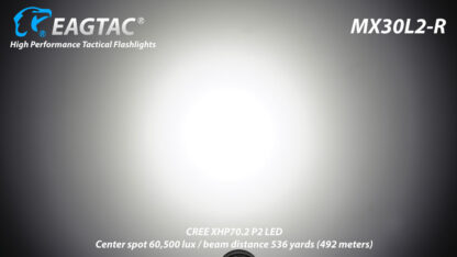 EagleTac MX30L2-R Rechargeable Security Torch (4500 Lumens)-17826