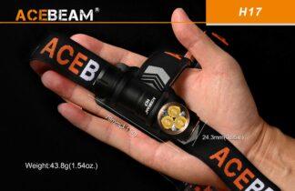 Acebeam H17 Rechargeable Headlamp - 1500 Lumens-18703