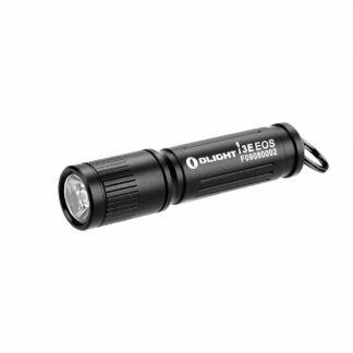 Olight i3E EOS AAA Keyring Light - Black - 90 Lumens-0