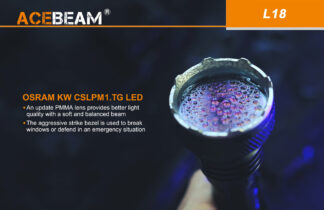 Acebeam L18 Compact Thrower - 1000 Metres-18792