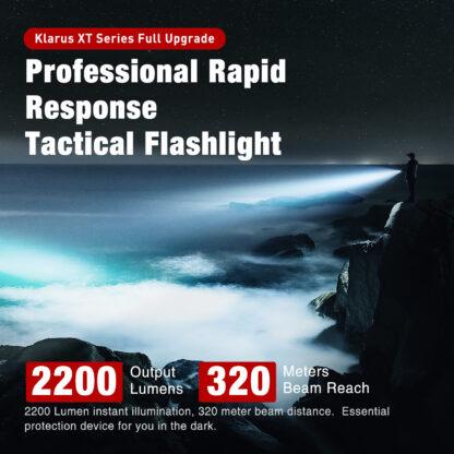 Klarus XT11GT Pro 2200 Lumen Rechargeable Torch-18886