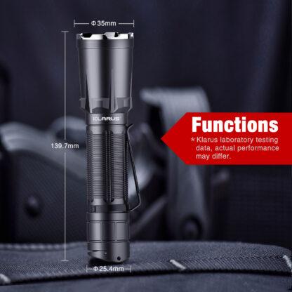 Klarus XT11GT Pro 2200 Lumen Rechargeable Torch-18885