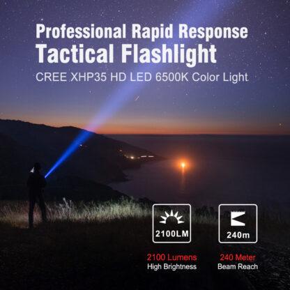 Klarus XT2CR Pro USB Type-C Rechargeable Flashlight - 2100 Lumens-18827