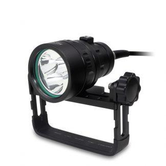 HI-MAX H01 Slim Canister Diving Light - 3500 Lumens-0