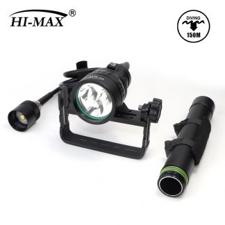 HI-MAX H01 Slim Canister Diving Light - 3500 Lumens-19044