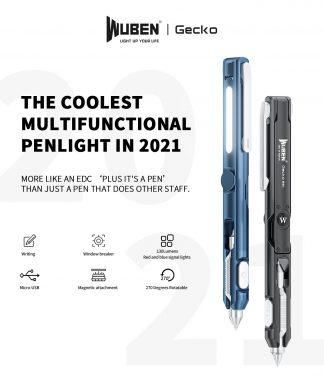 WUBEN Gecko E61 Rechargeable Multifunction Penlight-20323