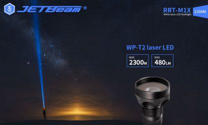 JETBeam RRT-M1X White Laser Flashlight - 2300 Metres-19279