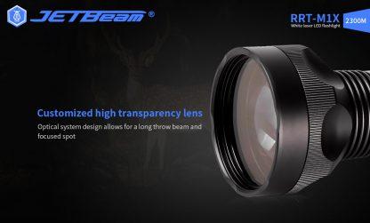 JETBeam RRT-M1X White Laser Flashlight - 2300 Metres-19281