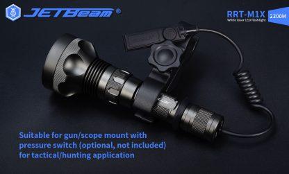 JETBeam RRT-M1X White Laser Flashlight - 2300 Metres-19284