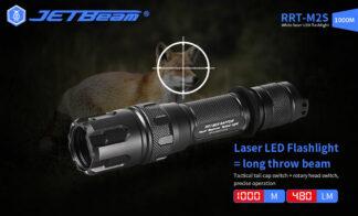 JETBeam Raptor RRT-M2S White Laser Flashlight - 1000 Metres-19263