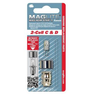 MagLite Replacement Xenon Bulb for 2-Cell C & D Flashlights-0