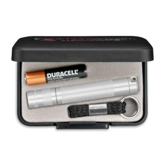 MagLite Solitaire 1AAA LED Keychain Flashlight - Silver-0