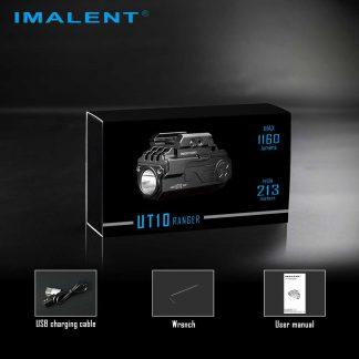 Imalent UT10 Ranger - Rechargeable LED Weapon Light (1160 Lumens)-19791