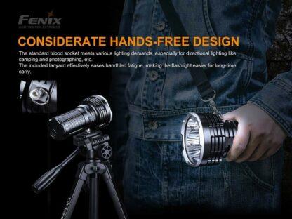 Fenix LR50R USB-C Rechargeable Spotlight - 12000 lumens, 950m-19895