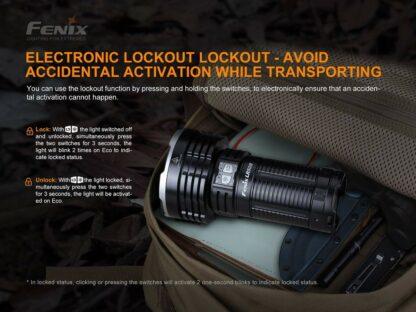 Fenix LR50R USB-C Rechargeable Spotlight - 12000 lumens, 950m-19889