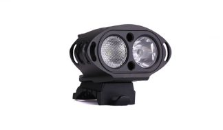 MTigerSports DS Bicycle and Helmet Light - 1800 Lumens-0