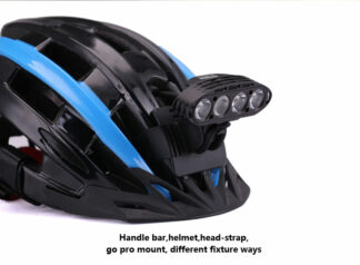 MTigerSports HYPERION Bicycle and Helmet Light - 3800 Lumens-20020