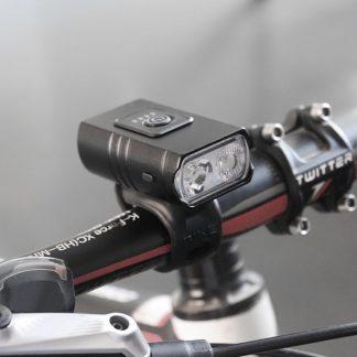 Hi-Max Rechargeable Mini Bicycle Headlight (1000 Lumens) -20226