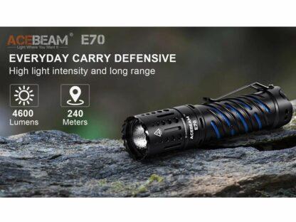 Acebeam E70-AL Compact Pocket Flashlight - 4600 Lumens-20201
