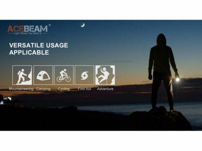 Acebeam E70-AL Compact Pocket Flashlight - 4600 Lumens-20202