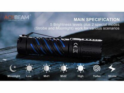 Acebeam E70-AL Compact Pocket Flashlight - 4600 Lumens-20205