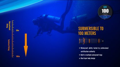 Fenix SD11 Diving Photography Light - 1000 Lumens-20172