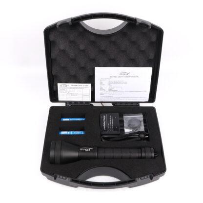 Hi-Max H17 Professional Dimmable Scuba Diving Light - 3800 Lumens -20303