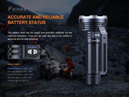 Fenix LR80R Rechargeable Searchlight - 18,000 Lumens, 1130m -20428
