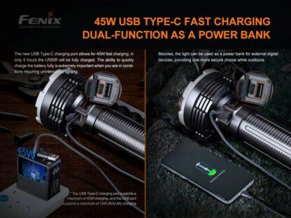 Fenix LR80R Rechargeable Searchlight - 18,000 Lumens, 1130m -20423