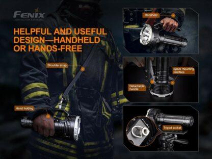 Fenix LR80R Rechargeable Searchlight - 18,000 Lumens, 1130m -20422