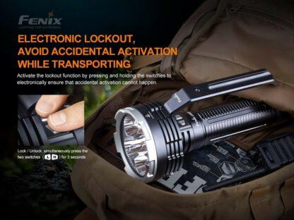 Fenix LR80R Rechargeable Searchlight - 18,000 Lumens, 1130m -20419