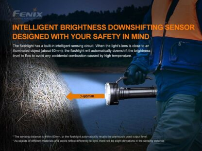 Fenix LR80R Rechargeable Searchlight - 18,000 Lumens, 1130m -20418