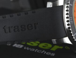 Traser P67 SuperSub Black Rubber Strap-0