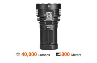 Acebeam X50 40000 Lumens Search Light Rechargeable