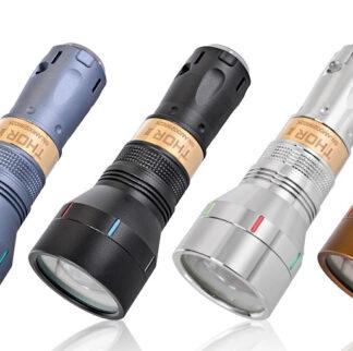 Lumintop Thor II, 500 Lumens LEP Flashlight - Black